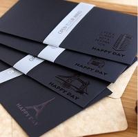 Set Black Envelope 5 Pcs