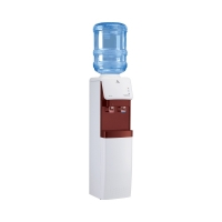 Vertical Water Dispenser with 2 Faucets  Al-Hafiz DHA-99KWR