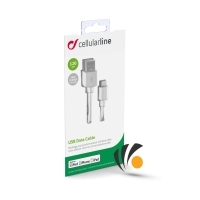 Cellularline USB Cable For Iphone/Ipad /Ipod 120CM White
