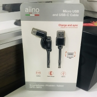 Micro USB and USB cable from aiino
