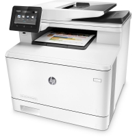 Printer HP M477 FNW With Warranty Card