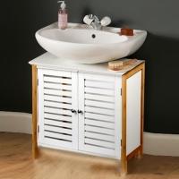 Wooden cabinet for bathroom