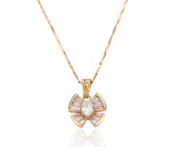 HIGH-QUALITY ZIRCONIA BUTTERFLY NECKLACE