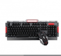 HK50 Wireless Gaming Keyboard Mouse Set