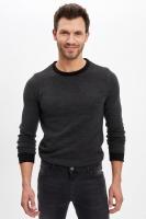 Men's black sweatshirt long sleeves from Defacto