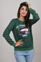 Women sweater - long sleeves - soft cotton fabric