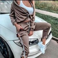 Women's Pajamas Two Pieces Jacket Pants - Julie Moda