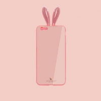 Cover Plastic Rabbit for iPhone 6 plus