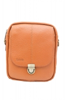Leather goods bag