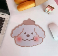 Mouse pad is waterproof with cute shapes