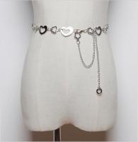 Women's belt metal chain