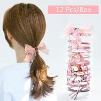 Set women hair clip 12 pieces
