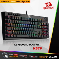 Redragon K579 Mechanical Gaming Keyboard Wired RGB LED Backlit