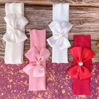 Turkish Cotton Bond in the form of a bow from the age of a newborn to a year