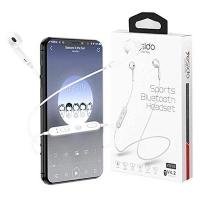 White Sports Bluetooth Headset 5.5