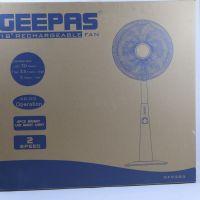 GEEPAS 18''RECHARGEABLE FAN GF9385