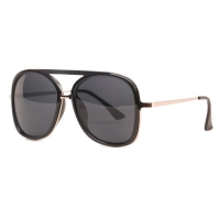 SUNNCARI sunglasses For Women (Black)