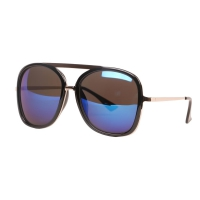 SUNNCARI sunglasses For Women (Blue)