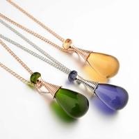 Distinctive necklace - shaped perfume