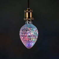 Oval-shaped lamp - colorful