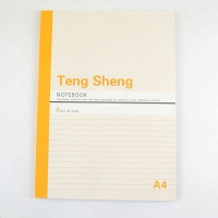 A 150-page notebook