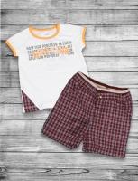 Sete Boys T-shirt + shorts