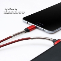 Charging Cable USB 1.2 m armed with iron for android JOYROOM