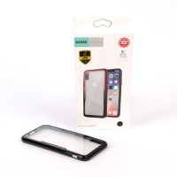Cover IPhone X Plastic with colored frames MARGO armor