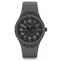 Swatch Men s Originals SUTM401 Grey Plastic Swiss Automatic
