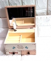 Box wooden accessories measuring 20*13