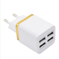 Charger Wall Electroplating 4USB