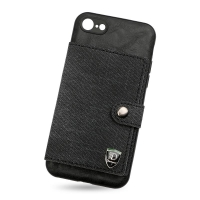 Leather cover with wallet for Iphone 7