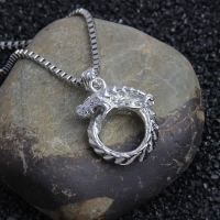 Men s Necklace - Dragon