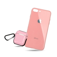 Set cover phone with wallet for Apple headphones For Iphone 7