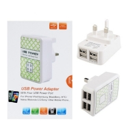 USB Power Adapter With Four USB Power Port
