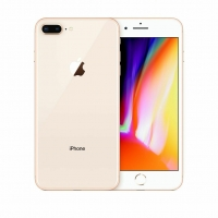I Phone 8 Plus - 128GB(Black . Gold )