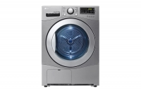 Clothes dryer, 9 kg, silver color from LG