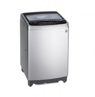 Silver 19 kg top washing machine