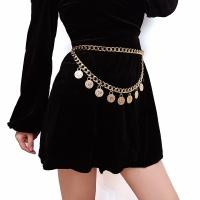 Women's belt, multi-layer chain