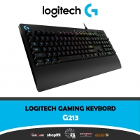Logitech G213 Gaming Keyboard with Dedicated Media Controls