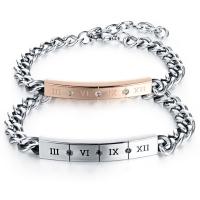 Love bracelet of stainless steel