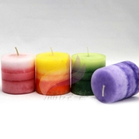 Candle Colorful and perfumed