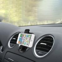 Phone holder for the car rotating 360 degrees