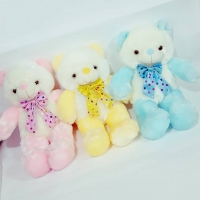 Cotton teddy bear in luminous 50 cm