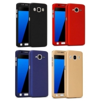 Cover Samsung J7 Prime Plastic 2 in 1 two pieces 360