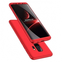 Cover Samsung Galaxy S9 Plastic 2 in 1 two pieces 360
