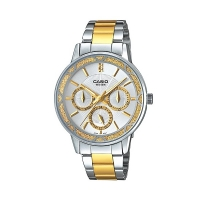 Casio Enticer Analog Multi-Color Dial Women s Watch - LTP-2087SG-7A