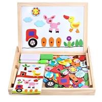 Wooden toys bag 120 pieces