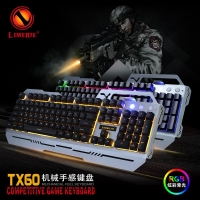 Gaming Keyboard And Mouse Backlit Colorful