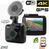 Car Camera 2.4 inch Built In WiFi and GPS G-Sensor DVR 4K